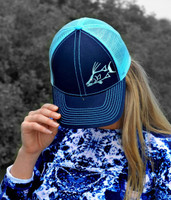 two toned womens hogfish hat