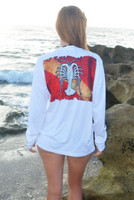 Unisex lobster dive flag sunshirt
