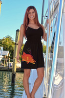 Black hogfish onesize with straps dress
