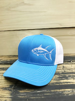 Sky Blue Tuna fishing  Mesh Back  adjustable hat