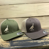 TURKEY Brown or Army Green   adjustable mesh back hat