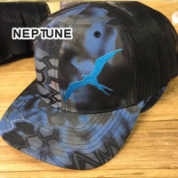 Frigate  Neptune krypetk camo fishing hats