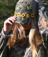 Sunflower Camoflauge  hats