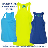 Loose fitting SPORTY TANKS