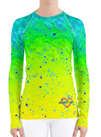 Mahi Mahi UPF 40+ fishing diver rash guard