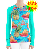 Taste Of the Tropics sun protection rash guard