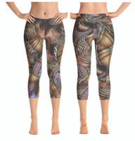 Turkey Feather Leggings