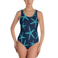 NAVY starfish onepiece swim suite