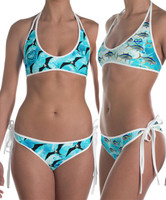 Frigate and Tuna reversible bikini