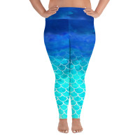 PLUS SIZE MERMAID SKIN LEGGING