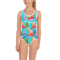 TODDLE-YOUTH TATSE OF THE TROPICS KIDS SWIMSUITE