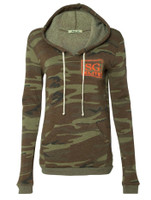 SG Elite fleece lined camo pull over hoodie