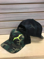 camo with neon Frigate fishing hat