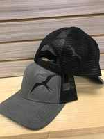 topographical  black frigate snapback hat