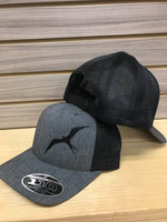 Black with Grey frigate snapback hat