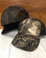 realtree Max-1 XT camo ELK  mesh back snapback hat