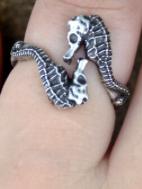 SEAHORSE wrap ring