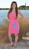 pink seaturtle  onesize  fits some dress with straps