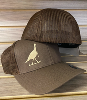 onesize flexfit brown turkey hat