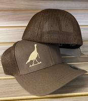 onesize flexfit brown turkey hat