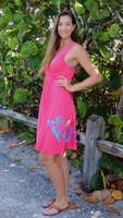 Fancy Coral seaturtle  dress