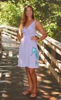Purple fancy seahorse  Dress