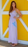 Purple MAXI Seaturtle dress