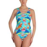 TASTE OF THE BAHAMAS One-Piece Swimsuit