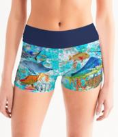 REEF FISH swim shorts - made to order could take 10 days