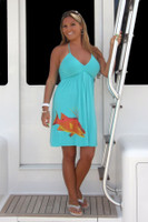Aqua Hogfish Dress
