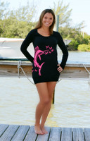 PINK Sailfish sweater dress-HOLIDAY SALE