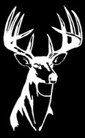 Buck Head hunting decal