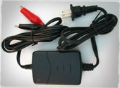 SLA Battery Charger with Alligator Clips