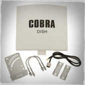 Cobra Dish Antenna with 3M (9ft.) Cable