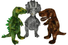Dinosaur - assortment of three