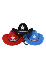Cowboy Hat- assortment of three