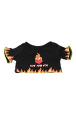 "T-shirt ""Hot for you"" (Black)"