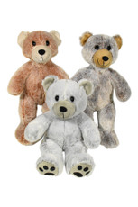 Bear Silky Family - assortment of three(6PCS=2 OF EACH)