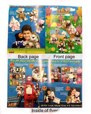 Animaland 4 page flyer (100 fliers per pack)