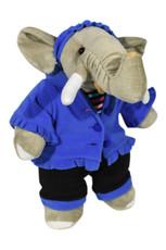 Blue Fleece Outfit