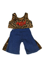 Wild Leopard Outfit