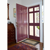 6-Lite White Pine  Scrren Door