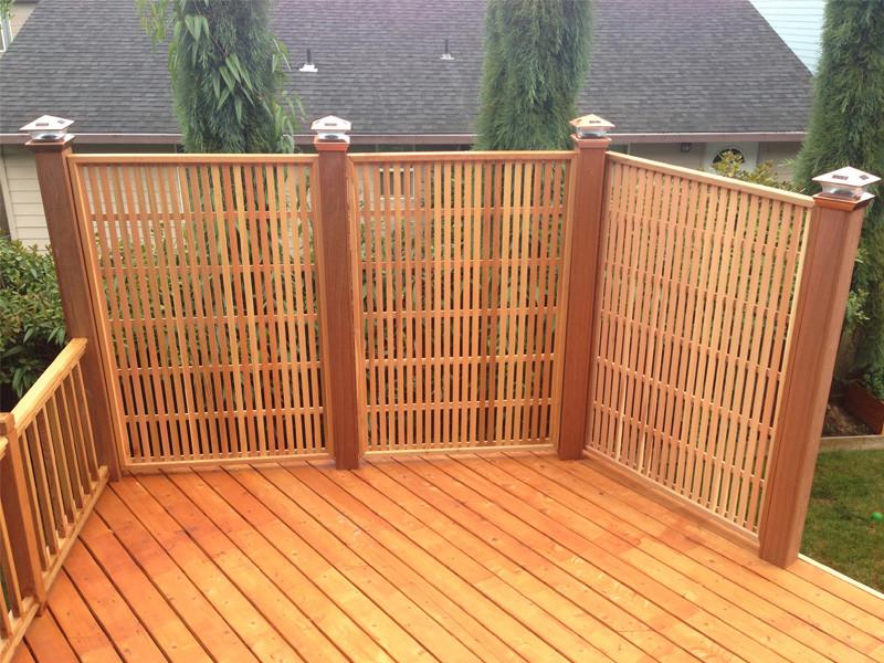 Moderna Privacy Lattice Panels Total Wood Store