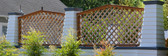 Cedar Diagonal Heavy Duty Garden Lattice