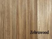 Zebrawood Hardwood S4S