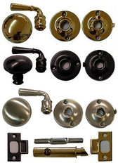 Storm door Lock and Lever Handle Set (Ives)