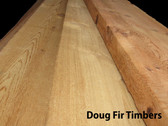 "Doug Fir Timbers / Mantels, S4S,  4"" thick"
