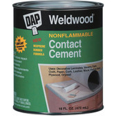 NonFlammable Contact Cement, Dap Weldwood