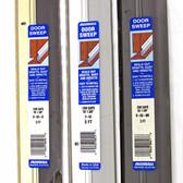 Randall Door Sweep - Aluminum & Vinyl (V-63)