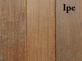 Ipe 2X4 Eased Edge Hardwood Board